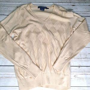Ralph Lauren women's argyle Sweater (L)reposh